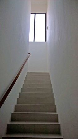 the staircase towards my bedroom