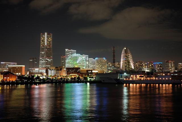 FUJIFILM X-M1 東京駅と横浜夜景