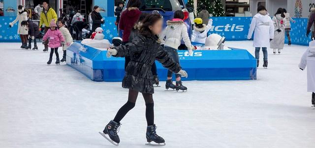 スケート&水族館デート