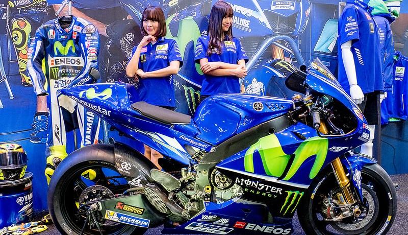 #東京モーターサイクルショー 2017 YAMAHAブースとコンパニオンさんたち