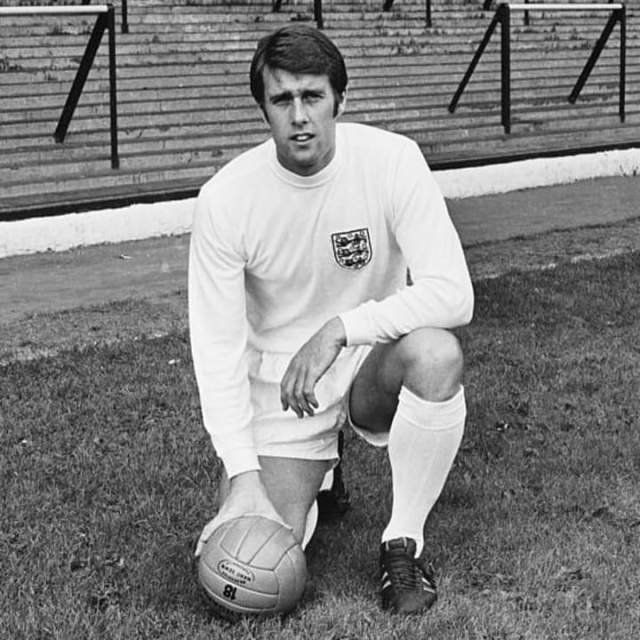 Geoff Hurst scored four goals at the 1966 World Cup