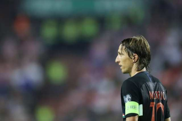 Luka Modric starred at the 2018 World Cup