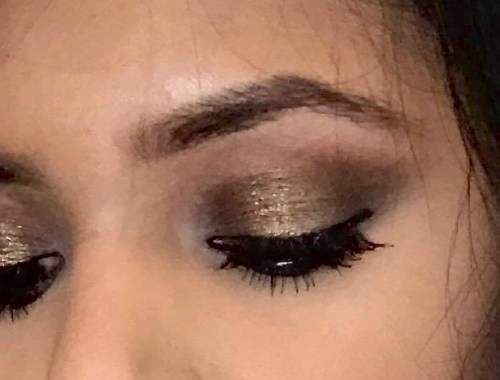 gold-and-brown-halo