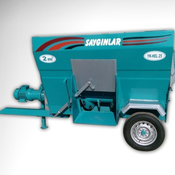 Tmr Feed Mixer 2m3 Electric or Tractor Powered Turkish Quality