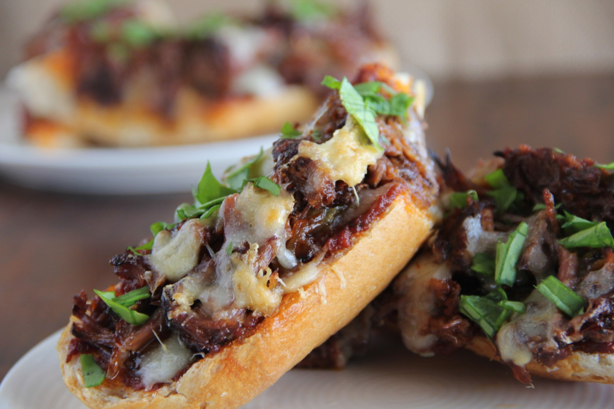Short Rib French Bread Pizza