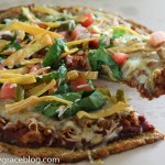Guilt-Free Taco Pizza