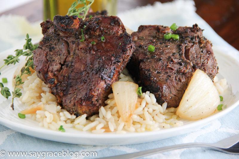 Oh My Lamb Loin Chops!!