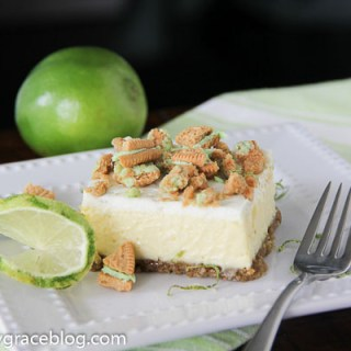 Key Lime Oreo Cheesecake Bars