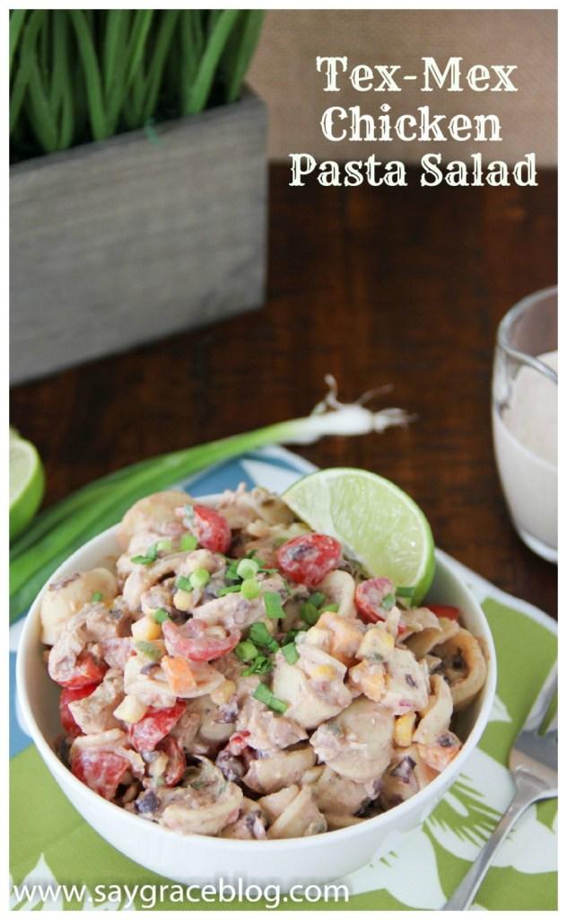 Tex-Mex Chicken Pasta Salad