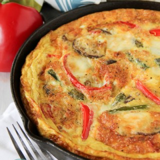 Chicken Sausage and Vegetable Frittata