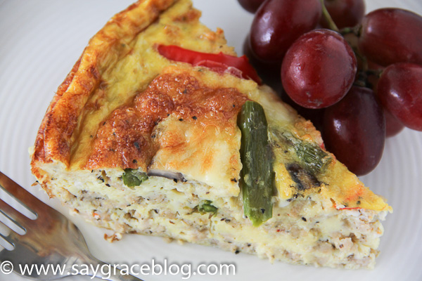 Chicken Sausage & Vegetable Frittata