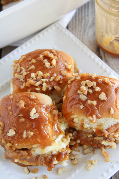 Salted Caramel Sweetie Buns