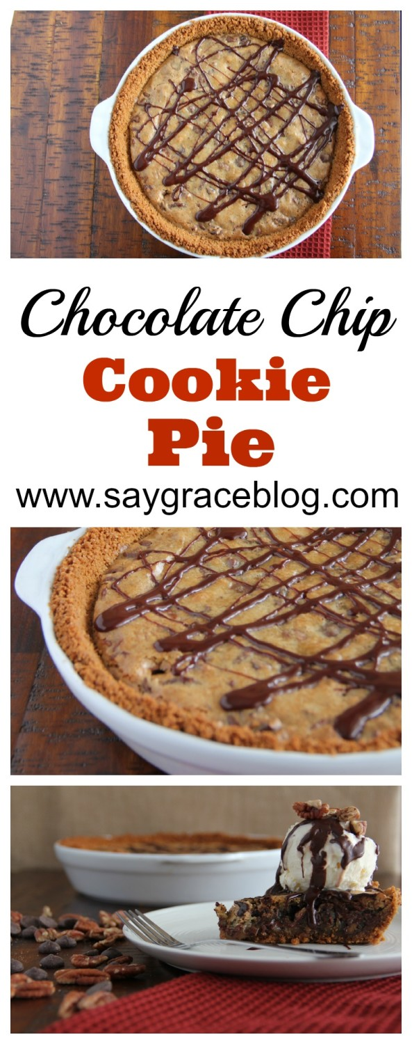 Chocolate Chip Cookie Pi(e) | Say Grace