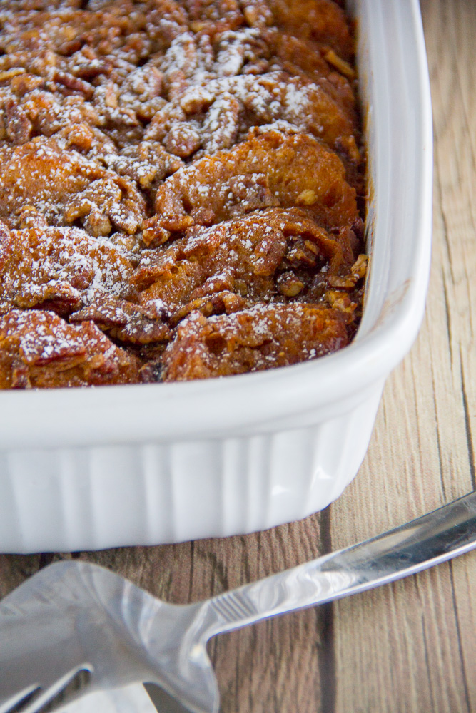 Sweet Potato French Toast Casserole