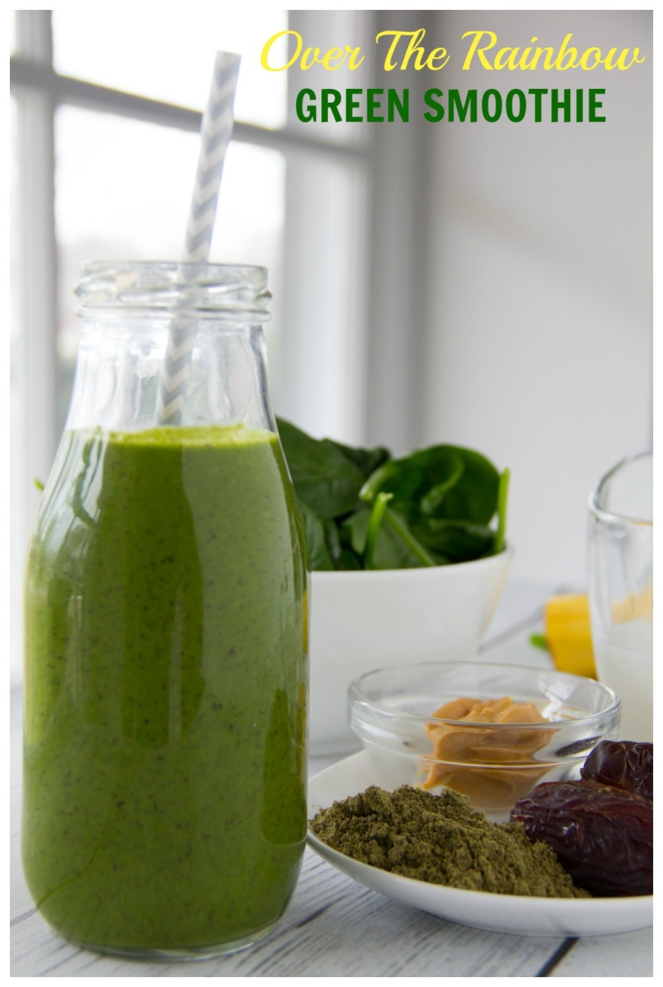 Over The Rainbow Green Smoothie