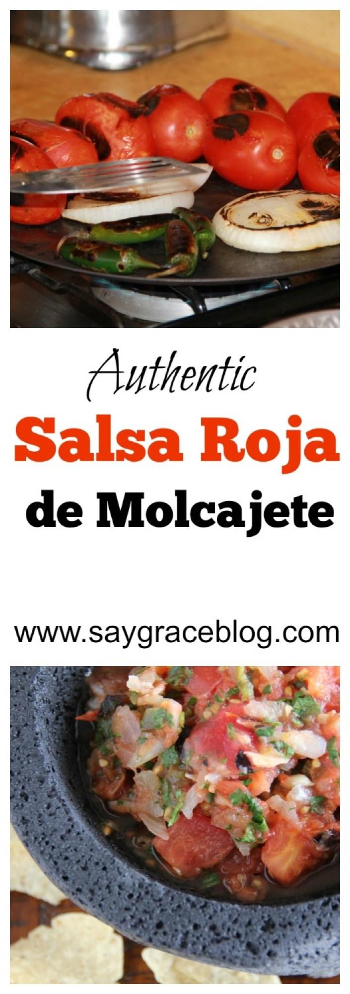SALSA ROJA DE MOLCAJETE