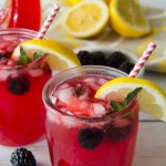 Summer Blackberry Lemonade
