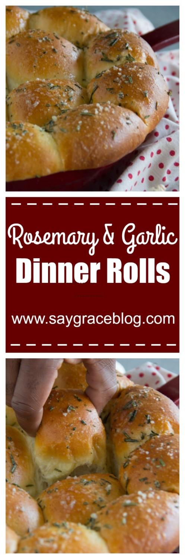 Rosemary & Garlic Dinner Rolls