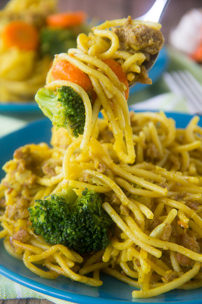 Winnie's Nigerian Spaghetti
