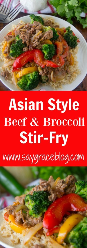 Asian Style Beef & Broccoli Stir-Fry