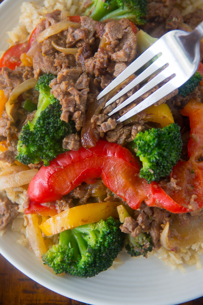 Asian Style Beef and Broccoli