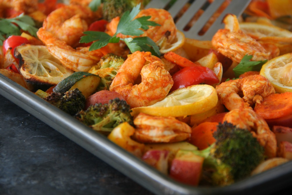 Sheet-Pan Roasted Shrimp