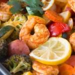 Sheet-Pan Roasted Shrimp & Veggies