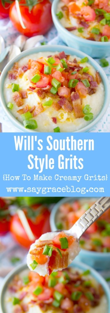 {Video} Will's Southern Style Grits {How To Make Creamy Grits}