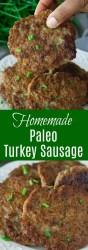 Homemade Turkey Sausage Recipe