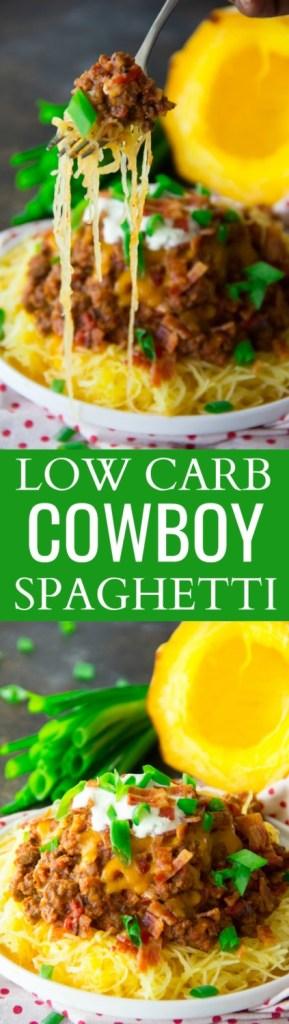 Low Carb Cowboy Spaghetti