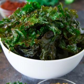 Spicy Kale Chips Recipe {Paleo Snack}