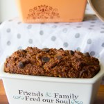 Petite Paleo Chocolate Chip Pumpkin Bread Recipe