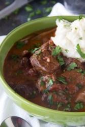 Beef Cacciatore {Beef Stew Recipe}