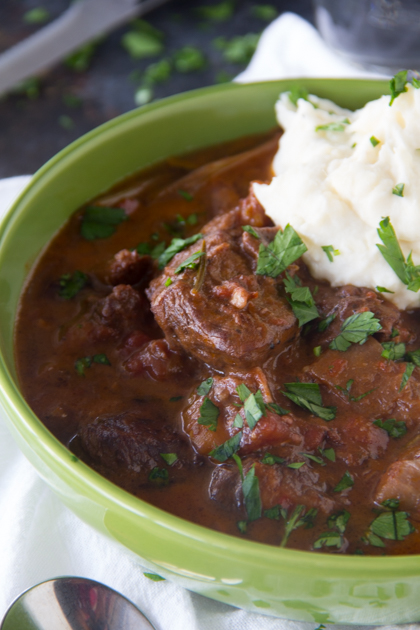 Beef Cacciatore {Beef Stew Recipe}