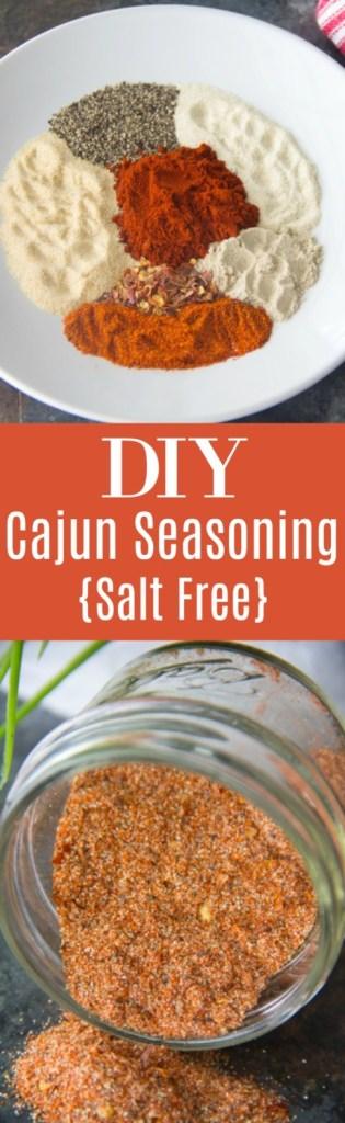 DIY Cajun Seasoning