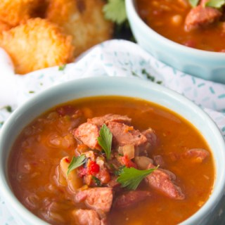 Slow Cooker Cajun 15 Bean Soup Recipe