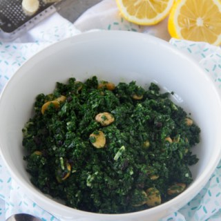 Kale Salad Recipe {Kayne Steakhouse Copycat}