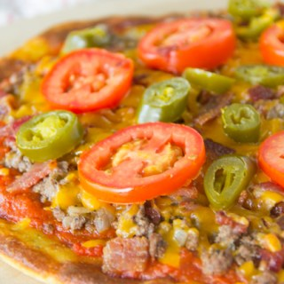 Fat Head Pizza {Low Carb, Gluten Free, Keto}