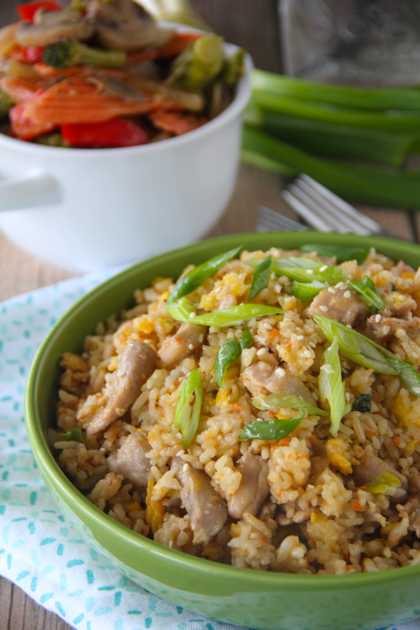 Benihana Chicken Fried Rice Copycat