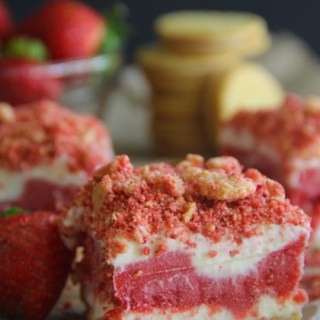 Strawberry Shortcake Ice Cream Bars {Good Humor Strawberry Shortcake Bars Copycat}