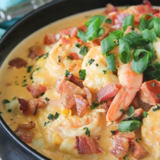 Shrimp & Grits {A True Southern Staple}
