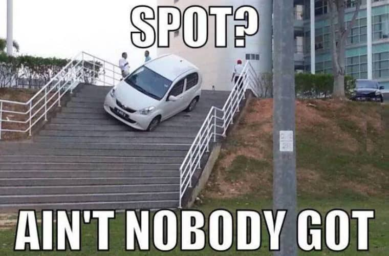 25 Parking Memes That Will Make You Laugh Out Loud Sayingimages Com