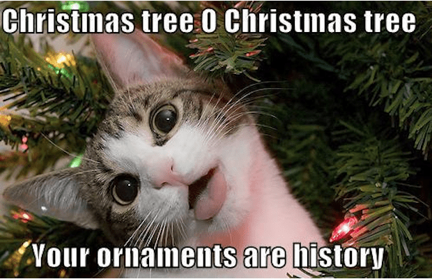 christmas tree o christmas tree your ornaments are history funny merry memes