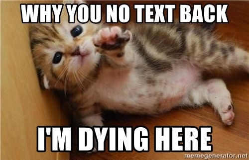 20 Relatable No Text Back Memes That Will Make You Feel A Lot