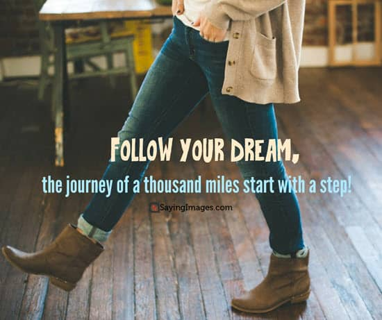 follow your dream new year quotes