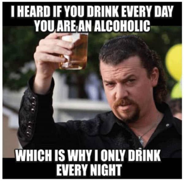 funny drunk alcoholic memes