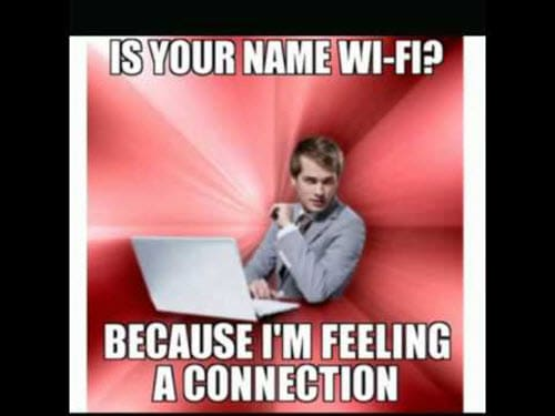 Funny Valentines Is Your Name Wifi Meme