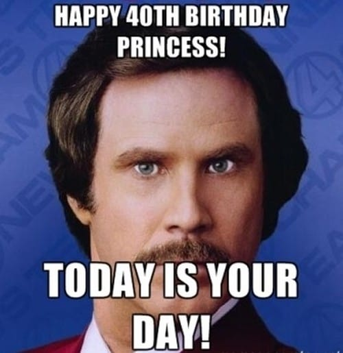 40 Funniest Birthday Memes For Anyone Turning 40 Sayingimages Com