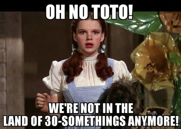 happy 40th birthday wizard of oz meme