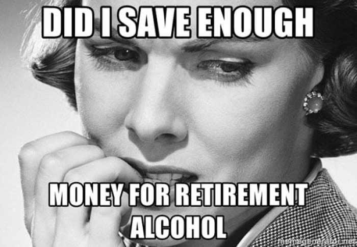 retirement money meme -